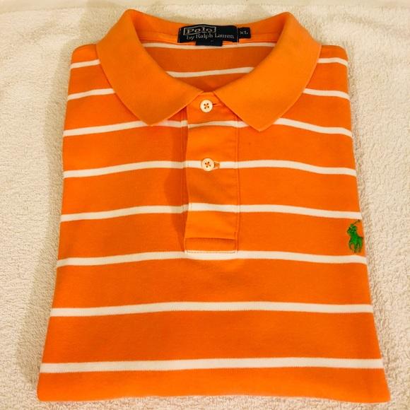 3286ce60da Polo by Ralph Lauren Shirts | Polo Ralph Lauren Orange Stripe Polo ...